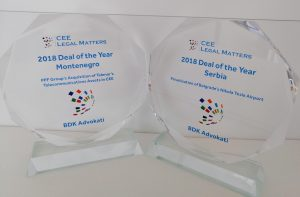 BDK Advokati wins two Deal of the Year awards by CEE Legal Matters 6